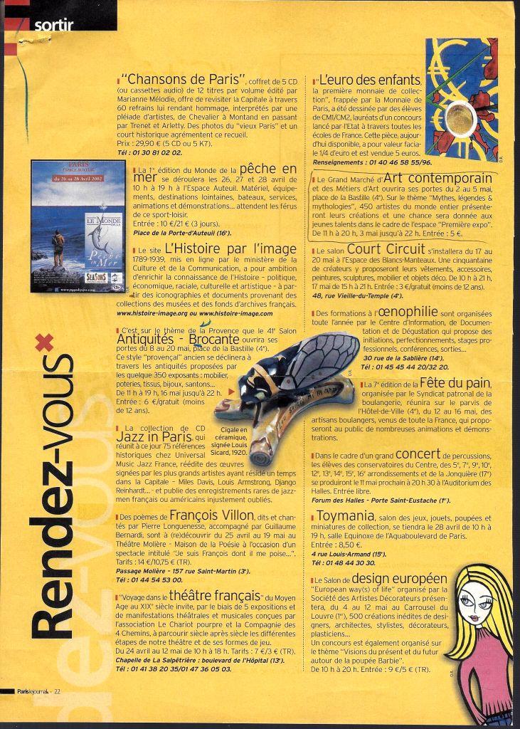 67b9b99f8f2d3c Archives Presse Salons – Joel Garcia